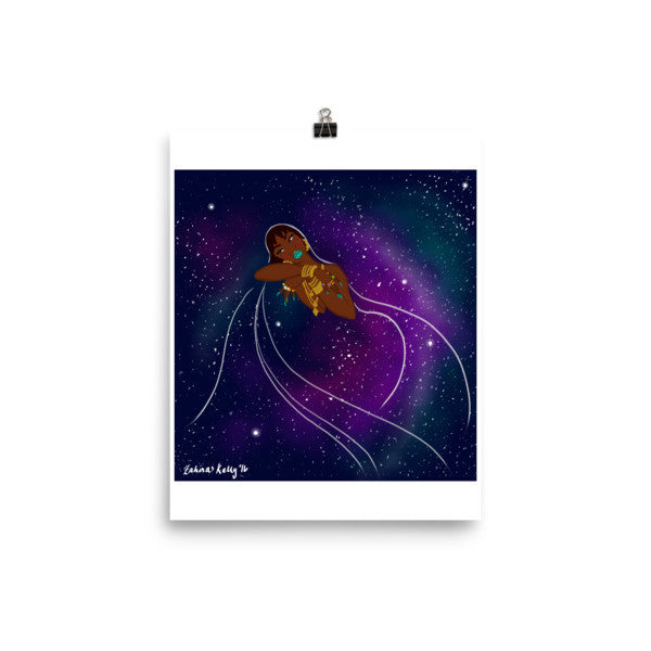 Galaxy Princess I Poster