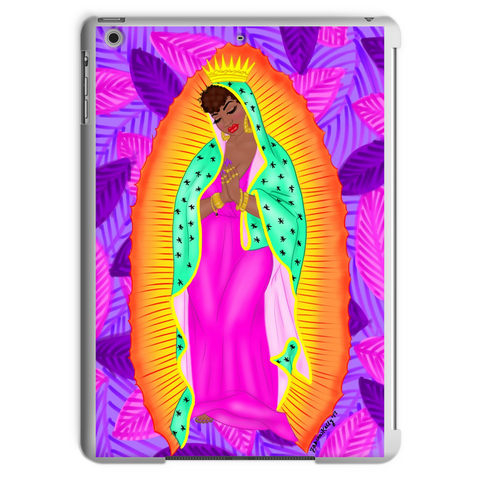 virgen negra tropical Tablet Case