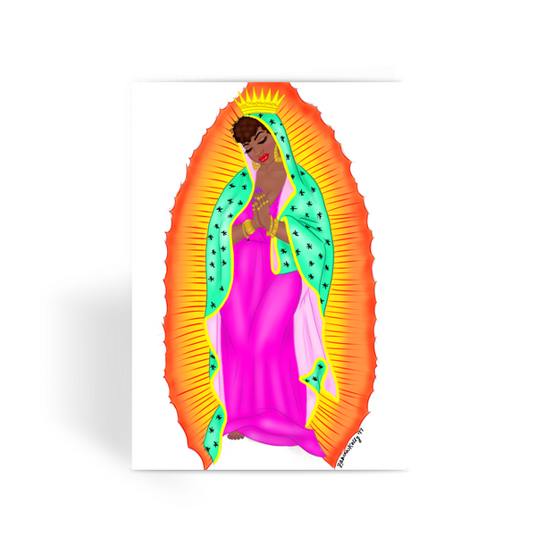 virgen negra Greeting Card