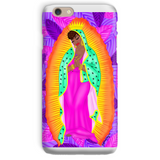 virgen negra tropical Phone Case