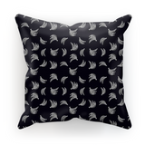 Black &White Platano Print Cushion