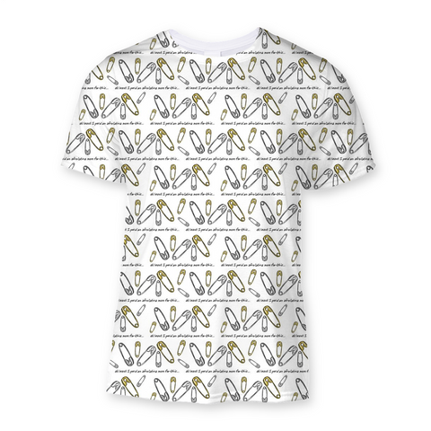 Bullshit Safety Pin Ally Sublimation T-Shirt