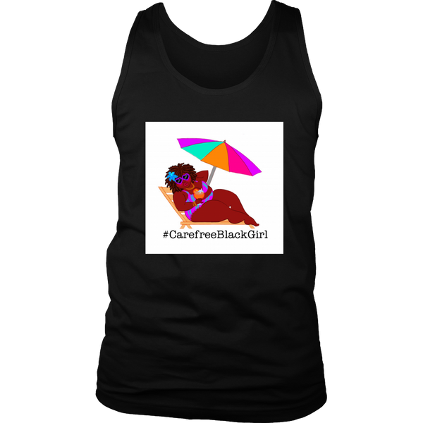 CarefreeBlackGirl Tank Top