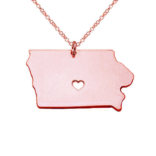 Iowa State Necklace