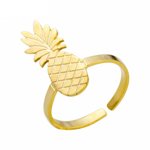 Adjustable Pineapple Ring
