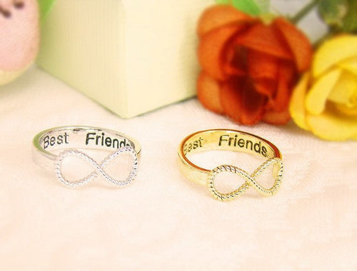 Best Friend Infinity Rings