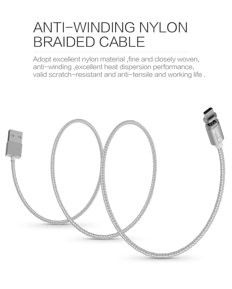 WSKEN MicroUSB Magnetic Cable