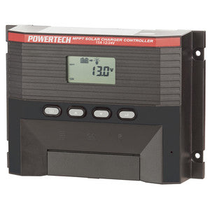 PowerTech Solar Power Controller with LCD - 12V or 24V 15A