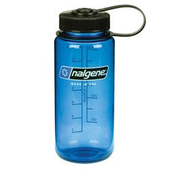 Nalgene 0.5 Liter Wide Mouth Blue
