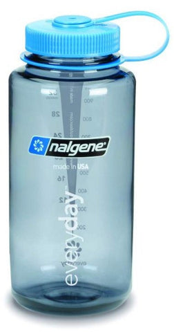 Nalgene 1 Liter Wide Mouth Grey