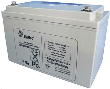 SLA Deep-Cycle Gel Battery - 12V 100Ah