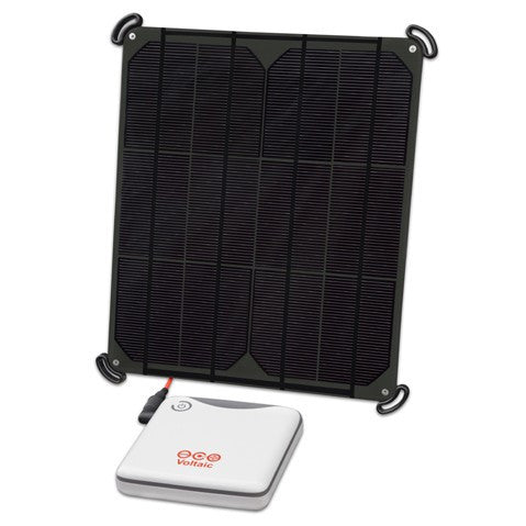 Voltaic 9 Watt Solar Panel V44 Kit