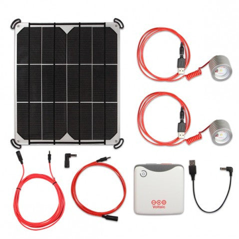 Voltaic Two Room Solar Touchlight Kit