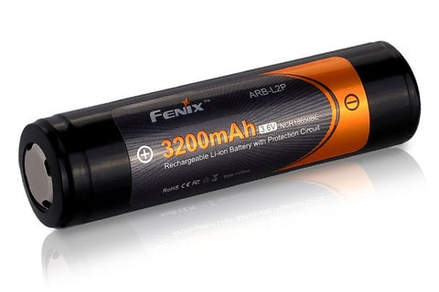 Fenix 3200 mAh 18650 Li-Ion Re-Chargable Battery