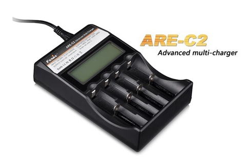 Fenix ARE-C2 Advanced 4-bay Multi-Charger for Li-Ion and NiMH Batteries