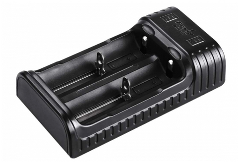 Fenix ARE-X2 2-bay Multi-Charger for Li-Ion and NiMH Batteries