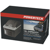 PowerTech 14L 12VDC Thermoelectric Portable Cooler & Warmer