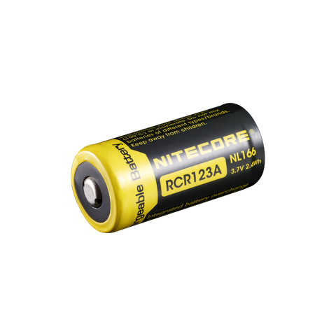 NiteCore RCR123 re-chargable battery