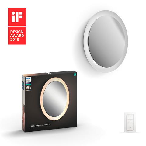 Philips Hue Adore Bathroom Lighted Mirror - White Ambiance
