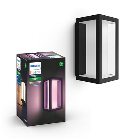 Philips Hue Impress Wall Lantern Black (Outdoor)