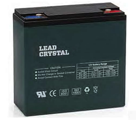 Lead Crystal Battery - 12V 22Ah