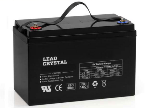Lead Crystal Battery - 12V 100Ah