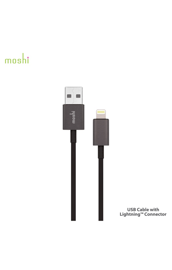 Moshi USB Cable with Lighting Connector 1M