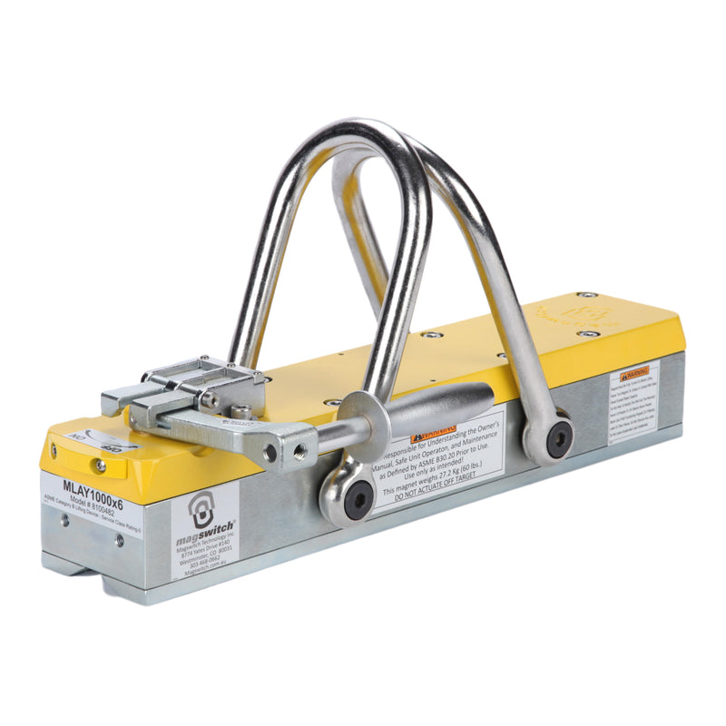 Magswitch MLAY 1000x6 Lifting Magnet - 8100482, Heavy Lifters, Magswitch,Mag-Tools - Magswitch Tools