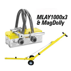 MLAY 1000x3 and MagDolly Bundle - 8130229, , Mag-Tools,Mag-Tools - Magswitch Tools
