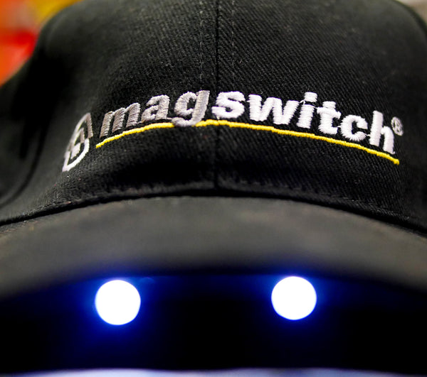 Magswitch Official Hat with Built-In Safety Light