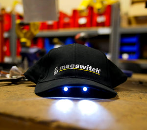 Magswitch Official Hat with Built-In Safety Light, , Magswitch,Mag-Tools - Magswitch Tools
