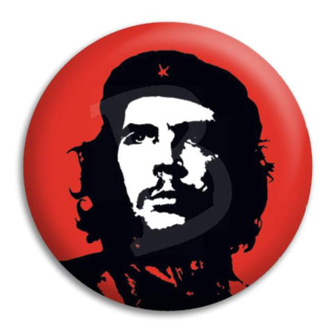Che Guevara Red Button Badge