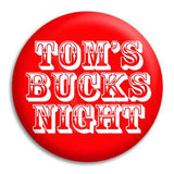 Bucks Night Western Font Template Button Badge