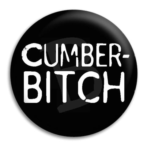 Cumberbitch Button Badge