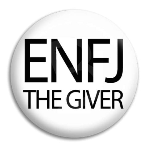 Enfj The Giver Button Badge