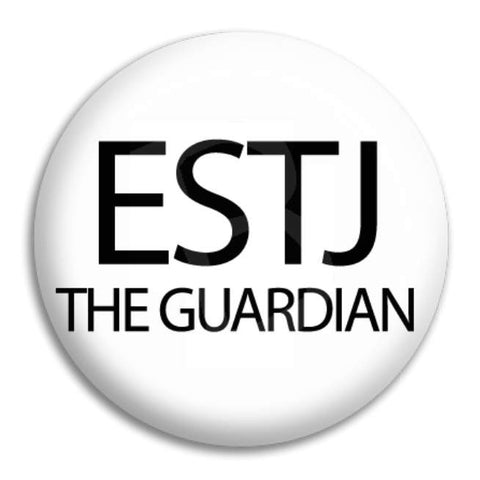 Estj The Guardian Button Badge