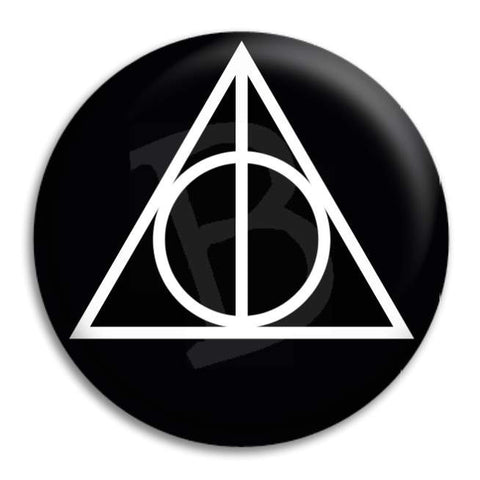 Hallows Symbol Button Badge