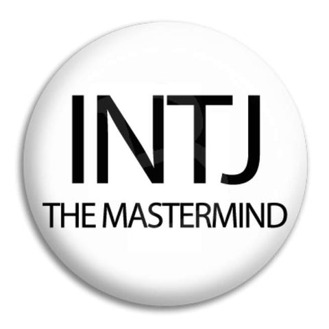Intj The Mastermind Button Badge