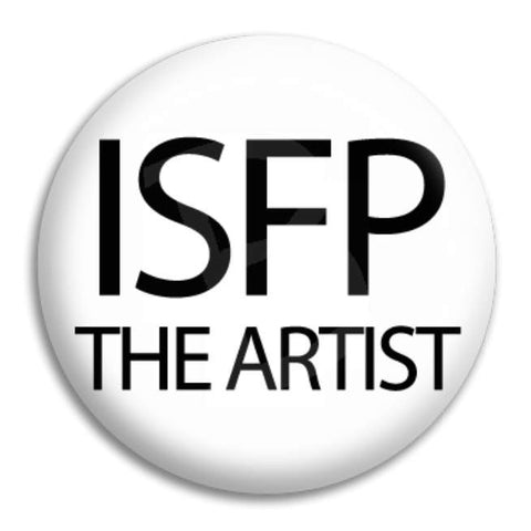 Isfp The Artist Button Badge