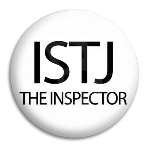 Istj The Inspector Button Badge
