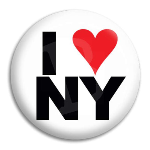 I Heart Ny Button Badge