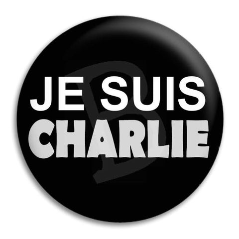 Je Suis Charlie Button Badge