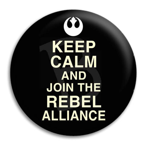 Kc And Join The Rebel Button Badge