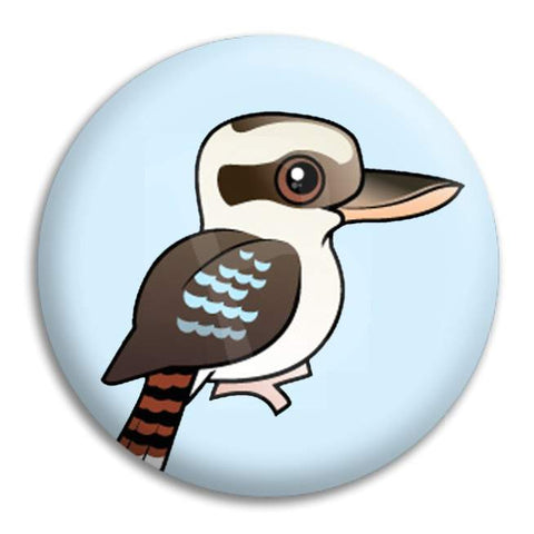 Kookaburra Button Badge