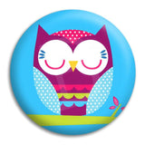 Owl Cute Button Badge