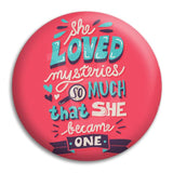 Paper Towns She Loved Button Badge