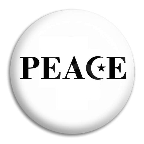 Peace Islam Button Badge