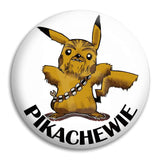 Pikachewie Button Badge