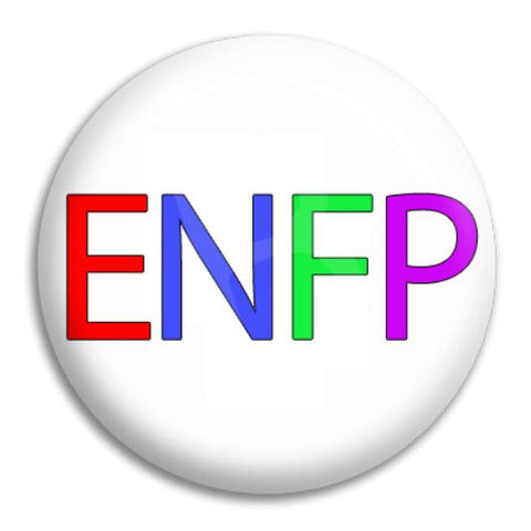Rainbow Enfp Button Badge