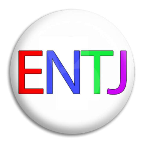 Rainbow Entj Button Badge